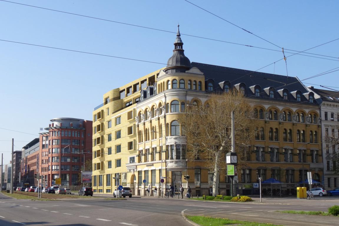 Ostplatz Leipzig denda architekten architektur stadtplanung